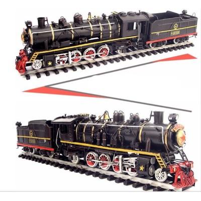 蒸気機関車 ビッグボーイ  ブリキ製 鉄道模型 オールド ビンテージ (全て手作り)mot77