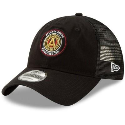 ニューエラ メンズ 帽子 アクセサリー Atlanta United FC New Era Team Circle 9TWENTY Adjustable Hat
