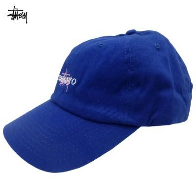 Stussy Basic Lo Pro Cap Toronto ステューシー キャップ ストックロゴ 青 トロント カナダ限定