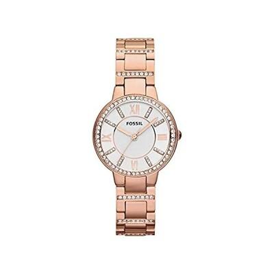 特別価格Fossil Summer 2013 Women's 30mm Rose Gold Steel Bracelet & Case Watch ES328好評販売中