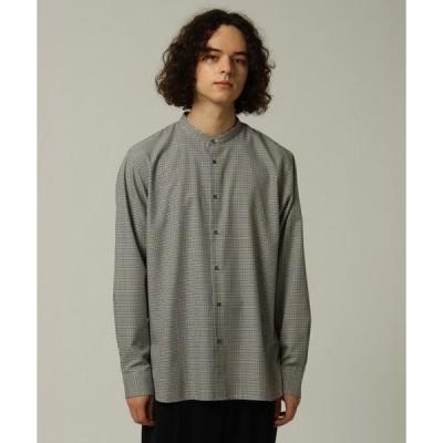 tk.TAKEO KIKUCHI / ティーケー タケオキクチ TRチェックバンドカラーシャツ