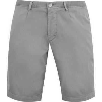 ヒューゴ ボス Boss メンズ ショートパンツ ボトムス・パンツ Slice Pleat Shorts Grey