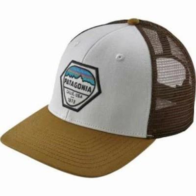 パタゴニア キャップ Fitz Roy Hex Trucker Hat White