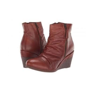 Miz Mooz ミズムーズ レディース 女性用 シューズ 靴 ブーツ アンクルブーツ ショート Baron - Brandy
