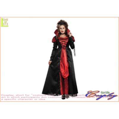【レディ】【88R9450】ヴァンパイアレス【吸血姫】【プリンセス】【クィーン】【仮装】【パーティ】ゴージャスでゴシックな吸血姫のドレ