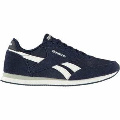リーボック Reebok メンズ スニーカー シューズ・靴 royal classic jogger 2 trainers Navy/White