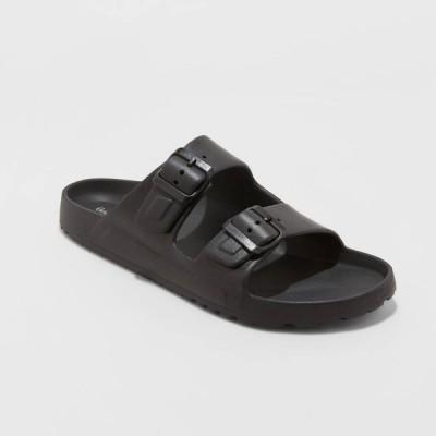 グッドフェロー Goodfellow & Co メンズ サンダル シューズ・靴 Carson Slide Sandals - - Black