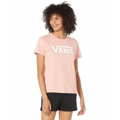 バンズ レディース シャツ トップス Flying V Crew T-Shirt Coral Almond