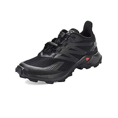Salomon Men's Supercross Blast Trail Running, Black/Black/Black, 9.5