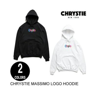 CHRYSTIE NYC クリスティ MASSIMO HOODIE 2色 S-M プルオーバーフーディー