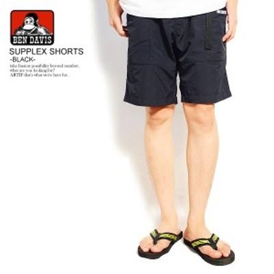 BEN DAVIS ベンデイビス SUPPLEX SHORTS -BLACK- メンズ ショーツ ショートパンツ ハーフパンツ ストリート ベンデービス atfpts
