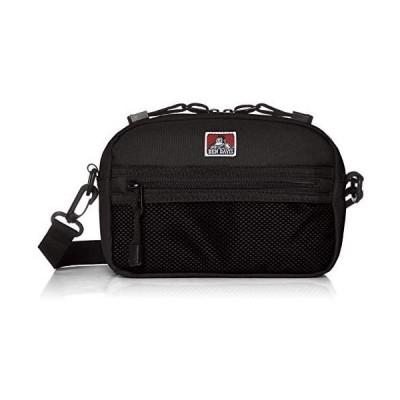 [ベンディビス] ショルダーバッグ ワイドメッシュショルダーバッグ BDW-9281 (ブラック Free Size)