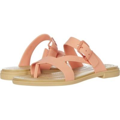 クロックス Crocs レディース サンダル・ミュール シューズ・靴 Tulum Toe Post Sandal Grapefruit/Tan