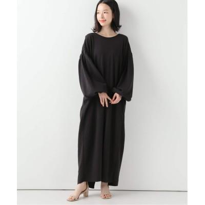 レディース スピック&スパン 【LORO】 Sucker Puff Sleeve Dress ブラック フリー