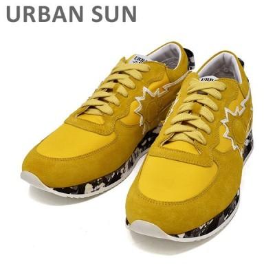 アーバンサン スニーカー ANDRE 62 イエロー/カモ URBAN SUN メンズ シューズ 靴