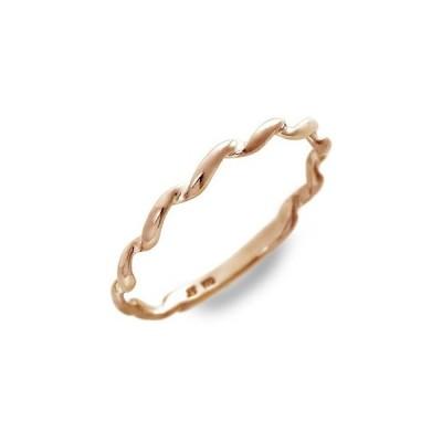 ピンクゴールド リング 指輪 彼女 プレゼント ラ・プレッツァ 誕生日 送料無料 レディース