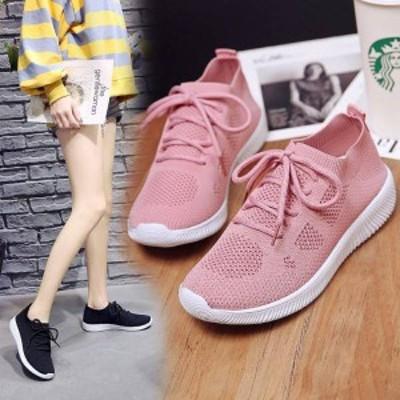 新作欧米風 男女共通ソックススニーカー 靴スニーカーはきやすい通気スニーカー大きいサイズありWQ2022