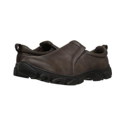 Roper ローパー メンズ 男性用 シューズ 靴 ローファー Cotter - Brown Faux Leather