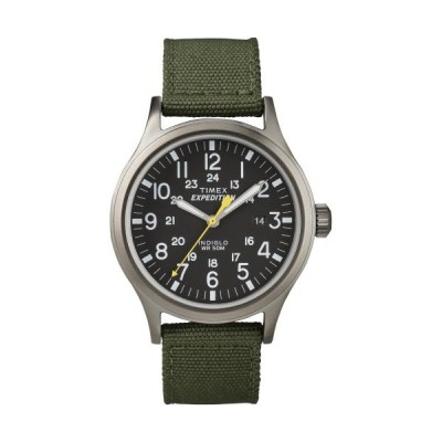 Timex男性Expedition Scout 40?Watch One Size グリーン/グレー並行輸入品