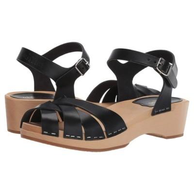 スウェディッシュ ハズビーンズ Swedish Hasbeens レディース サンダル・ミュール シューズ・靴 Magdalena Black
