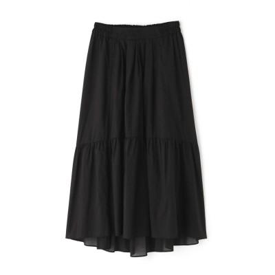 ◆ティアードスカート ブラック