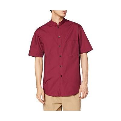 アルベ スタンドカラーシャツ(半袖)兼用 EP6840 C-29ワイン 日本 SS (日本サイズXS相当)
