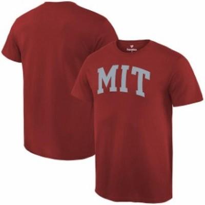 Fanatics Branded ファナティクス ブランド スポーツ用品  Fanatics Branded MIT Engineers Cardinal Basic Arch Expansion T-Shirt