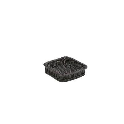 樹脂製太渕ディスプレイかご 正角 黒 91-026B(7-0270-0902)