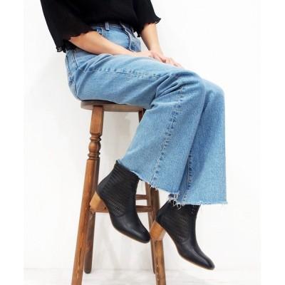 あしながおじさん / 春らしい抜け感のある素材・チュールショートブーツ/cava cava (サヴァサヴァ) WOMEN シューズ > ブーツ
