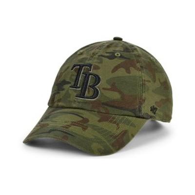 47ブランド メンズ 帽子 アクセサリー Tampa Bay Rays Regiment CLEAN UP Cap Gray