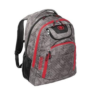 "OGIO 411069 - Cynderfunk/Red Business Excelsior 17"" Laptop Backpack/Rucksack, Cynderfunk/Red【並行輸入品】"