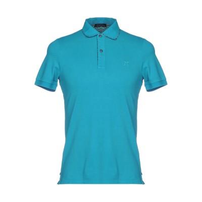 DIMATTIA ポロシャツ ターコイズブルー XS 95% コットン 5% ポリウレタン ポロシャツ
