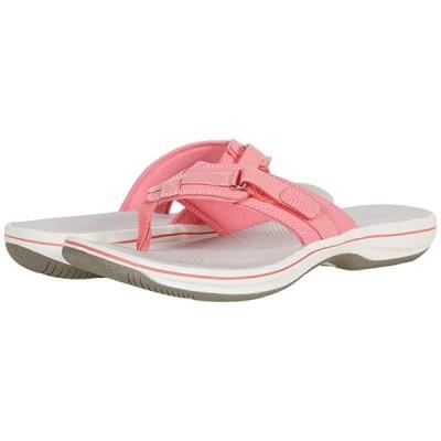 クラークス Breeze Sea レディース サンダル Bright Pink Synthetic