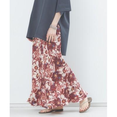 Rouge vif la cle / フラワーアシンメトリーフレアスカート WOMEN スカート > スカート