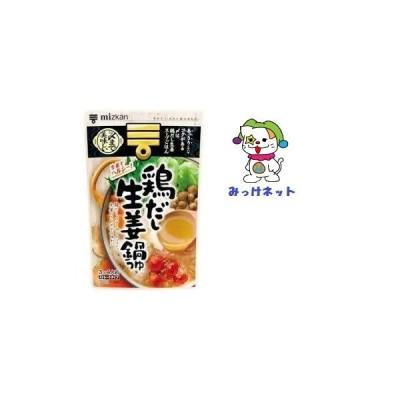 【1箱買いでお得】みっけ!1個268円(税別)  ミツカン 〆まで美味しい鶏だし生姜鍋つゆ ストレート ( 750g )  12個セット