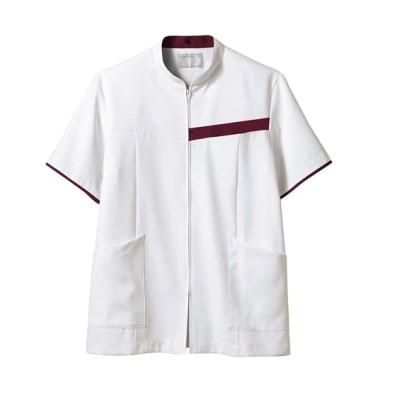 MONTBLANC 72-1246 ジャケット(半袖)(男性用) ナースウェア・白衣・介護ウェア