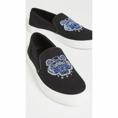 ケンゾー KENZO メンズ スリッポン・フラット スニーカー シューズ・靴 K-Skate Slip-On Sneakers Black