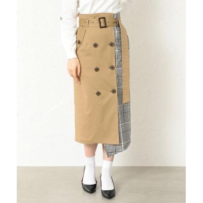 【ラブレス】 WOMEN トレンチタイトスカート レディース ベージュ 34 LOVELESS