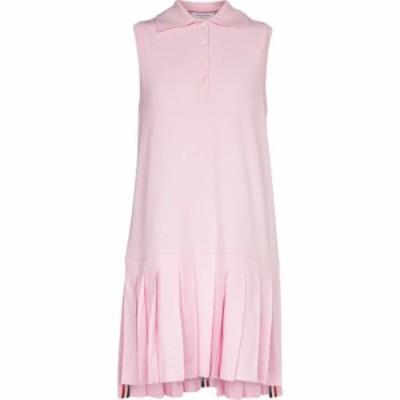 トム ブラウン Thom Browne レディース ワンピース ワンピース・ドレス Cotton polo minidress LT Pink