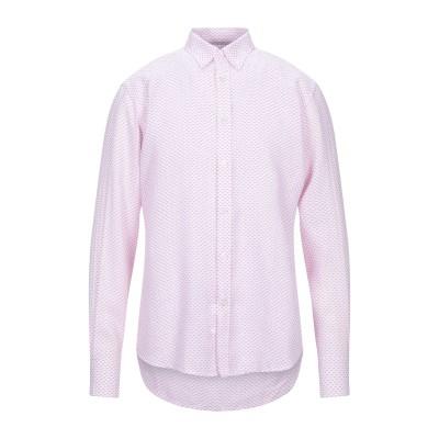 HARMONT&BLAINE シャツ ピンク L リネン 100% シャツ