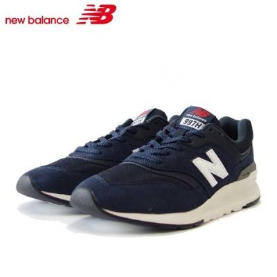 new balance ニューバランス CM997HLX ネイビー (ユニセックス) クラシックなランニングシューズ