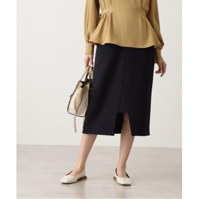 【エヌナチュラルビューティベーシック】 スリットミモレタイトスカート レディース ネイビー M N.Natural Beauty Basic