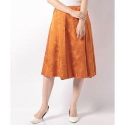 OLD ENGLAND(オールドイングランド)シルクウールジャカードスカート