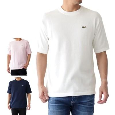 LACOSTE ラコステ ニットTシャツ TH100EL 半袖Tシャツ メンズ