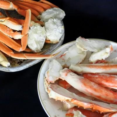 魚市場厳選 ずわいがに&たらばがに食べ比べ