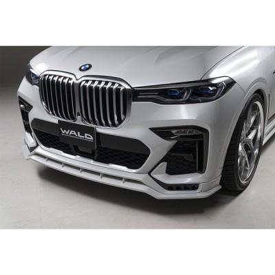 【WALD Sports-Line】 BMW G07 X7 Mスポーツ 35d M50i 前期 19.06- フロントスポイラー ヴァルド エアロ バルド エムスポーツ