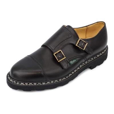 PARABOOT パラブーツ ローファー WILLIAM ウィリアム 981412 メンズ 男性 シューズ 革靴 NOIR ブラック