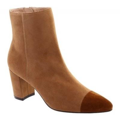 スチュアート ワイツマン Stuart Weitzman レディース ブーツ シューズ・靴 Jill Cap Toe Bootie Camel/Coffee
