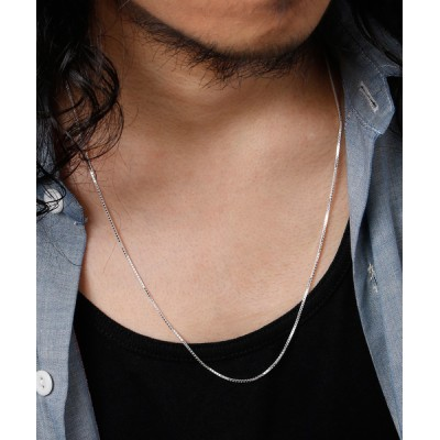ability / THEFT セフト / SILVER CHAIN NECKLACE シャイニーチェーンシルバーネックレス / V125 45 MEN アクセサリー > ネックレス