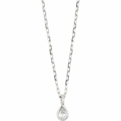 ボニー レヴィ BONY LEVY レディース ネックレス ジュエリー・アクセサリー Varda Petite Pear Shape Diamond Pendant Necklace 18k Whit